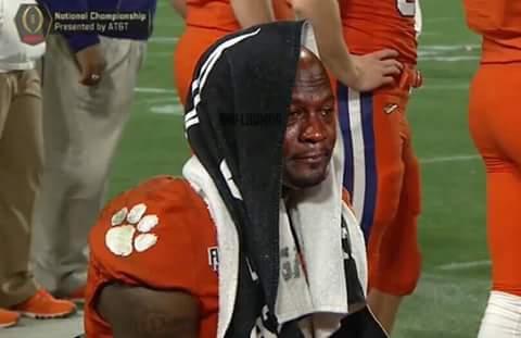 Sad Clemson