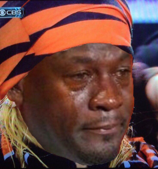 Sad Jordan Bengals Fan