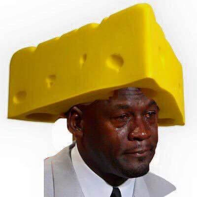 Sad Jordan Cheesehead