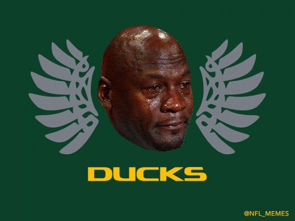 Sad Jordan Oregon Ducks