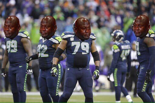 Sad Jordan Seahawks
