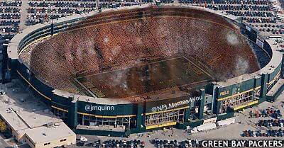 Sad Lambeau Field