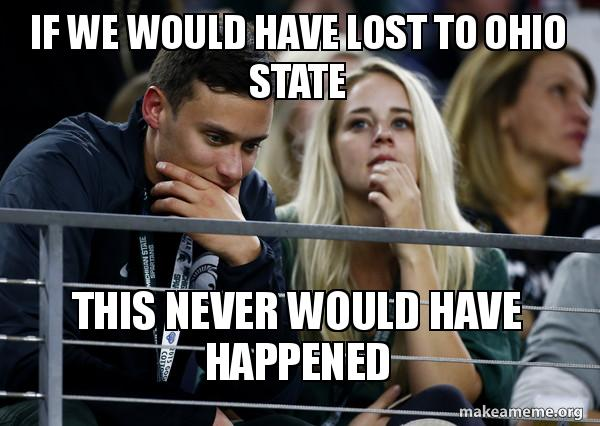 Sad MSU Fan Meme
