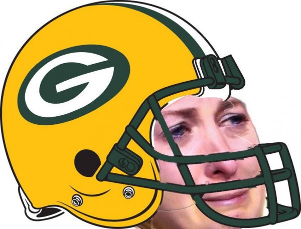 Sad Packers Helmet