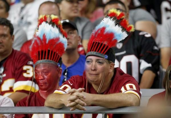 Sad Redskins Fans