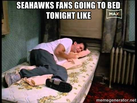 Sad Seahawks Fans