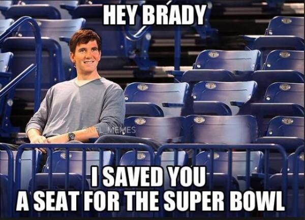 Saved Brady a seat
