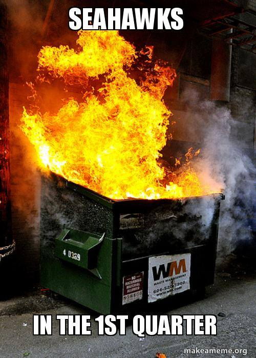 Seahawks first quarter