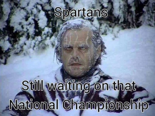 Spartans fans still waiting