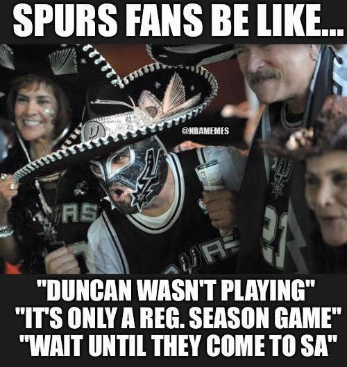 Spurs excuses