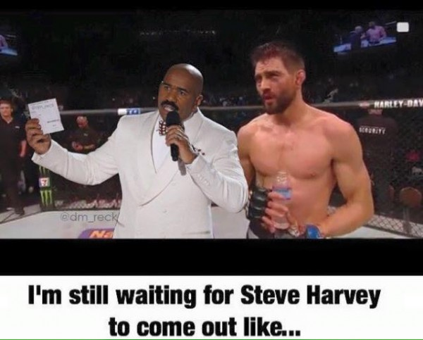Still Waiting for Steve Harvey