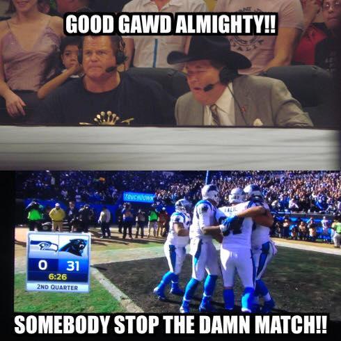 Stop the damn match
