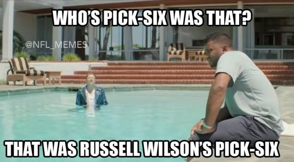 Wilson's pick six