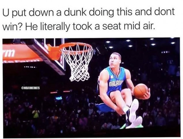 Aaron Gordon Take a Seat