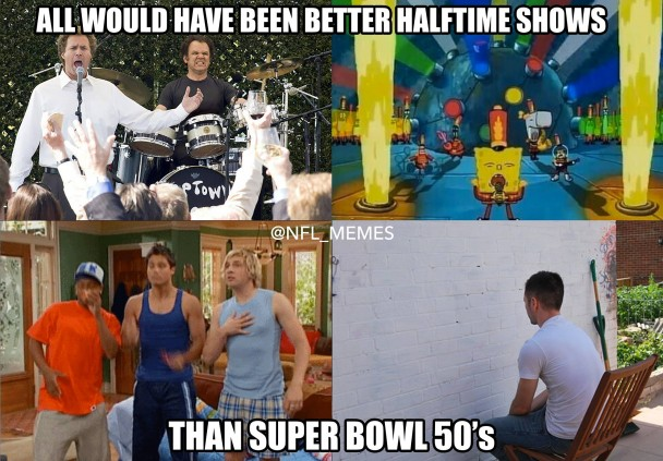 Better half time shows