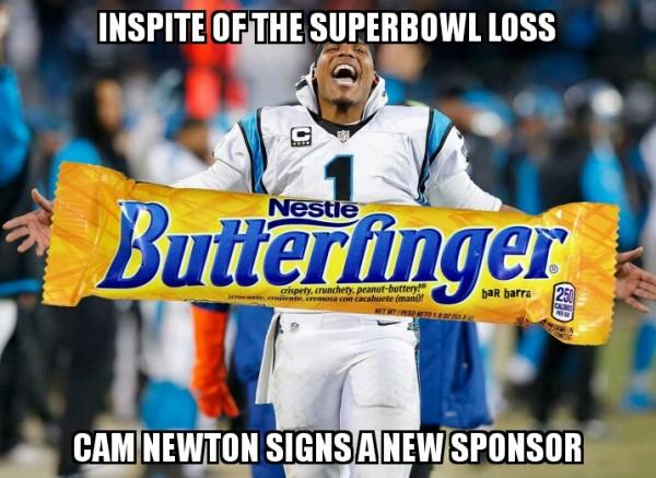 Butterfinger Cam Newton