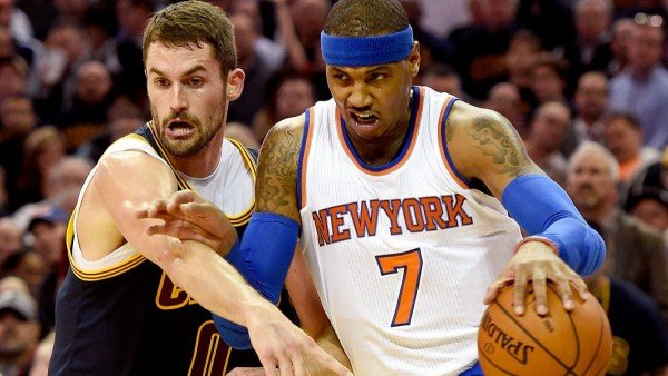 Carmelo Anthony, Kevin Love