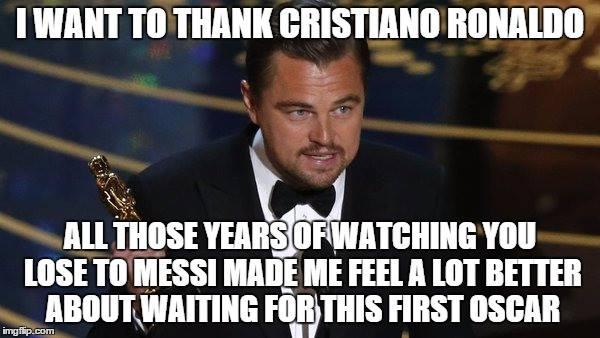DiCaprio Ronaldo