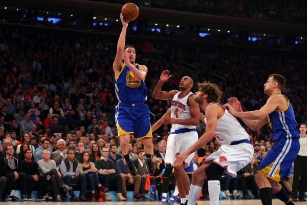 Klay Thompson vs Knicks