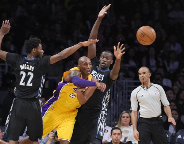 Kobe Bryant, Andrew Wiggins, Gorgui Dieng