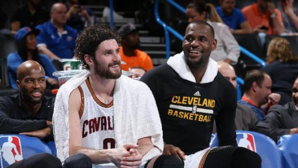 LeBron James, Kevin Love