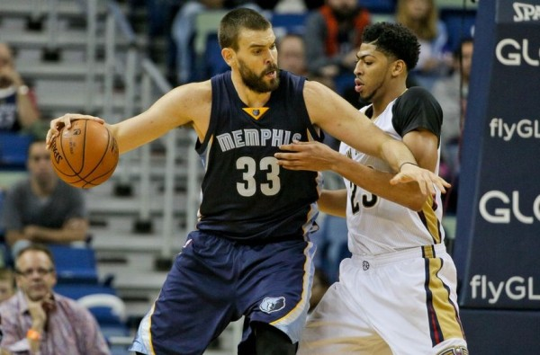 Marc Gasol, Anthony Davis