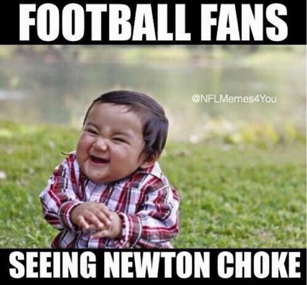 NFL Fans Don't Like Newton