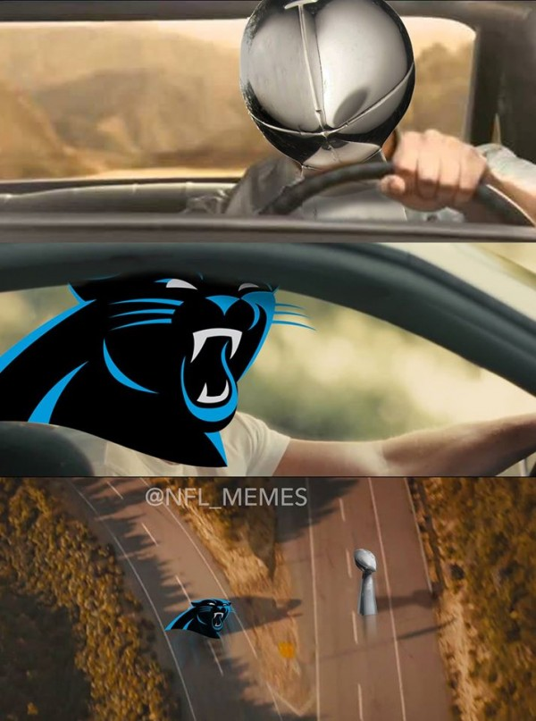 Panthers Super Bowl Fast & Furious