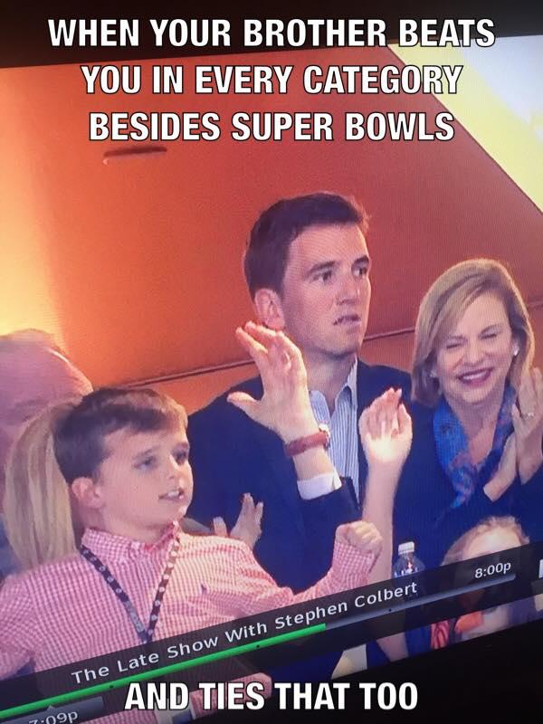 Sad Eli Manning