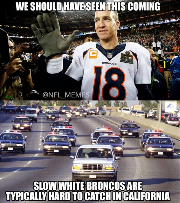 Slow White Bronco meme