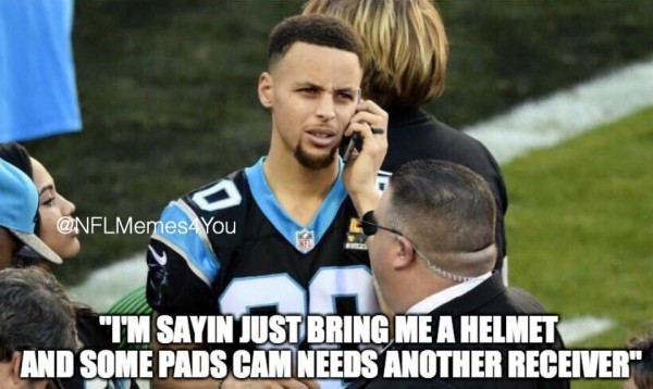 Stephen Curry Panthers Meme
