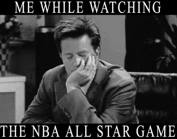 Watching the All-Star game