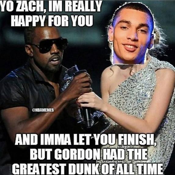 Zach LaVine Kanye Taylor Swift