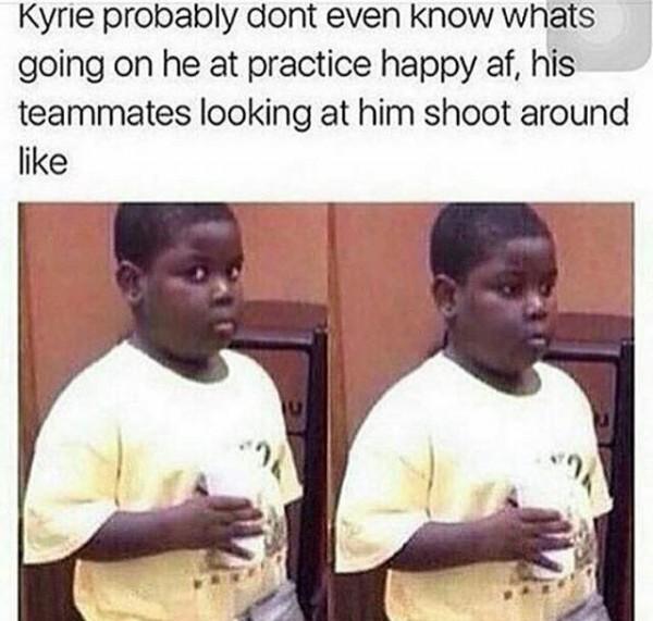 Awkward teammates
