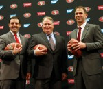 Chip Kelly, Jed York, Trent Baalke