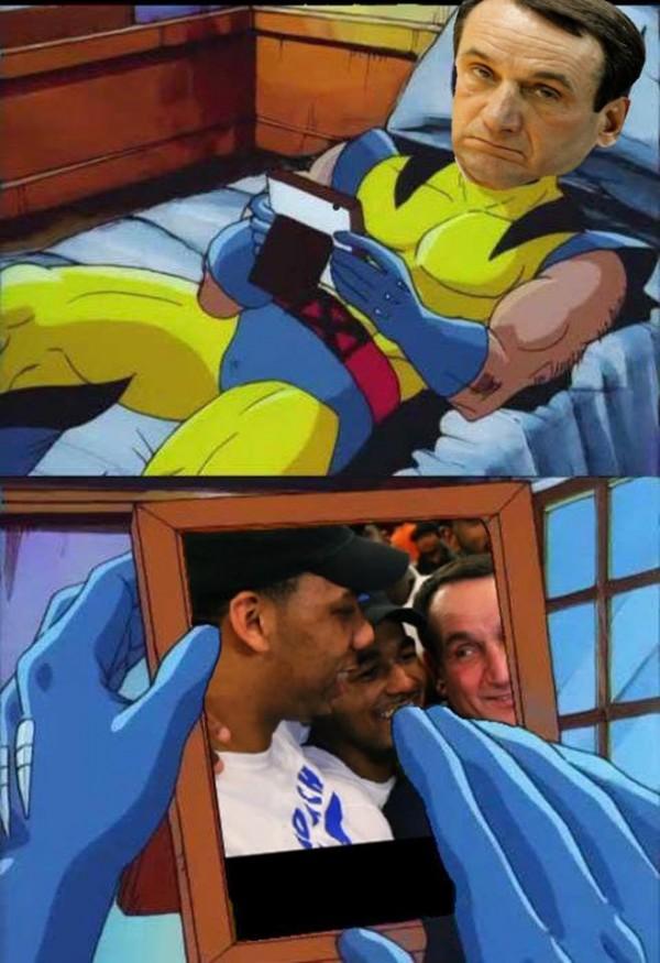 Coach K Missing Them