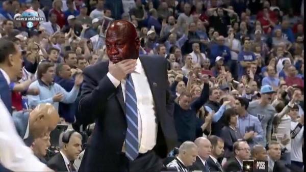 Crying Jordan Bill Self