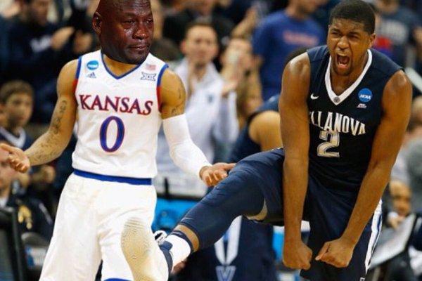 Crying Jordan Kansas