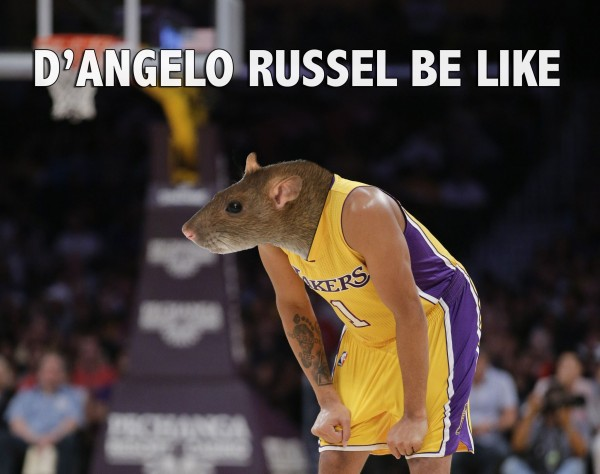D'Angelo Russell Rat