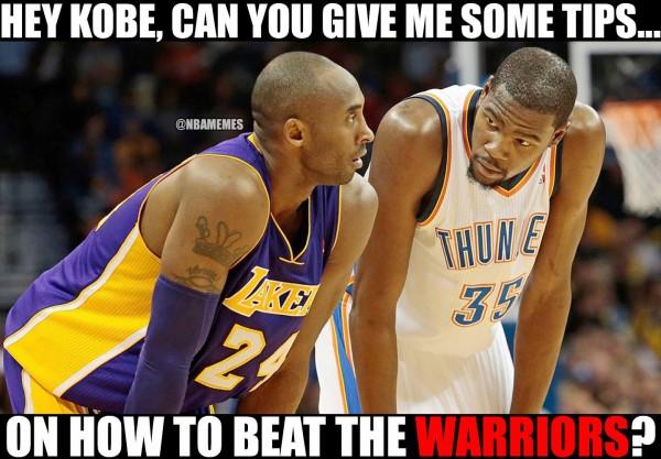 Durant asking Kobe for tips
