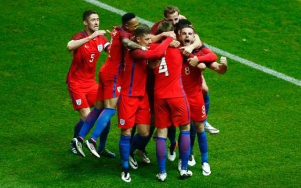 England beat Germany