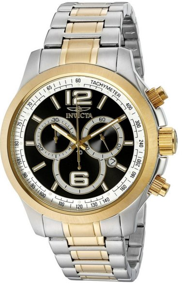 IInvicta Men's 0080 II Collection Chronograph Two-Tone Stainless Steel Watch