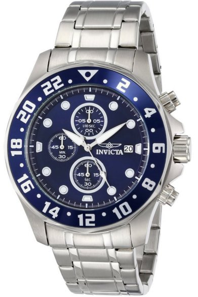 Invicta Men's 15939 Specialty Analog Display Japanese Quartz Silver Dive Watch