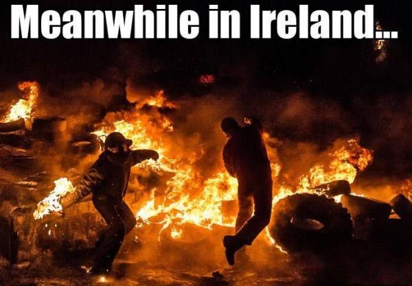 Ireland Riots