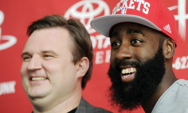 James Harden, Daryl Morey