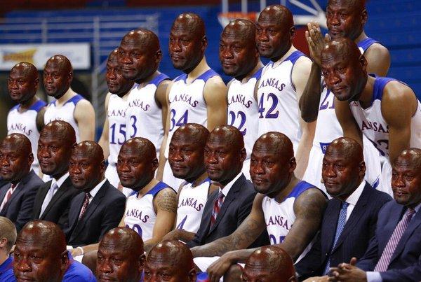 Kansas Crying Jordans