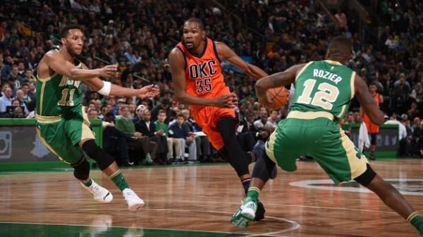 Kevin Durant vs Celtics