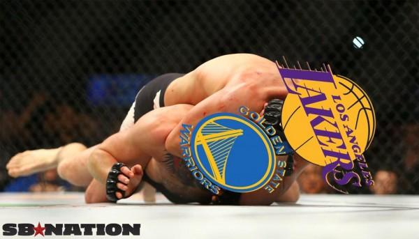 Lakers Choke Warriors