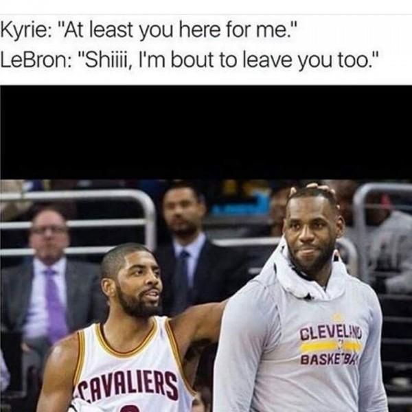 Leaving you too