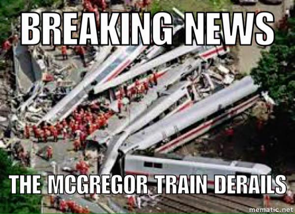 McGregor Train Derails